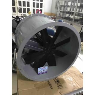 Quạt hút công nghiệp hướng trục tròn 40cm , 370w-220v, motor teco taiwan